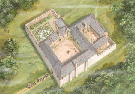 Cotehele, Cornwall, around 1530