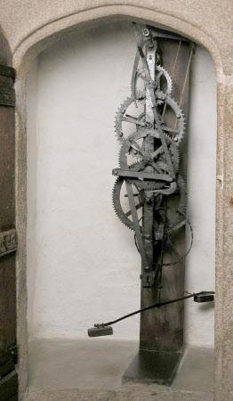 Pre-pendulum clock