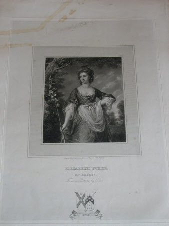 Elizabeth Cust, Mrs Philip Yorke I (1750-1779) (after Francis Cotes)