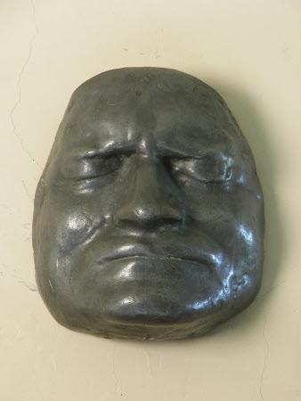 Death Mask of Sir Isaac Newton (1642-1727)