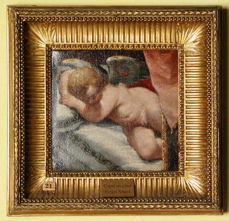 Sleeping Cupid/Cupid on a Bed