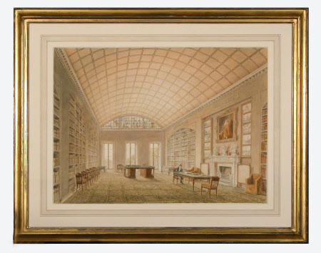 Sir Richard Colt Hoare, 2nd Bt (1758–1838) in the Library at Stourhead