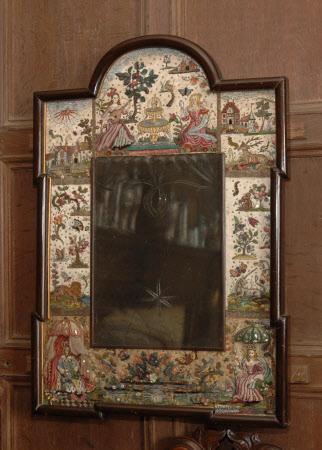 Stumpwork mirror