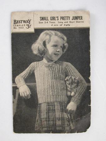 Knitting leaflet
