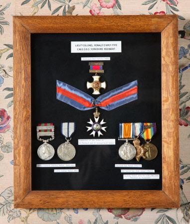 Medal case