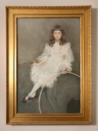 Margaret Rutson, Mrs Ronald D'Arcy Fife (1890-1952) as a Young Girl