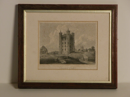 Tattershall Castle, Lincolnshire, from the South-west  (after Thomas Girtin)