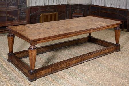 The so-called 'Aeglentyne' [or Eglantine] Table