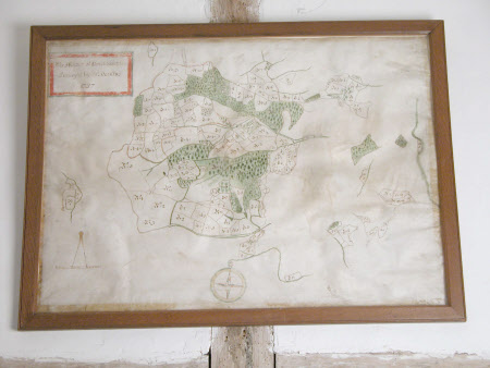Map of the Manor of Brockhampton, Herefordshirfe