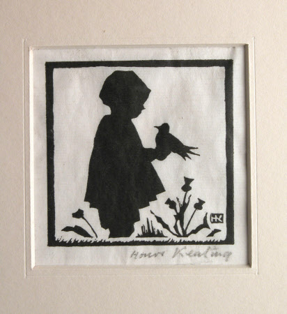 A Child with a Bird