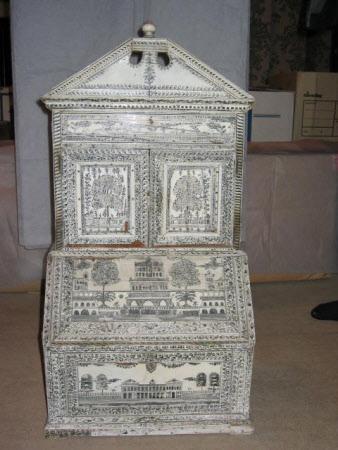 Miniature bureau bookcase
