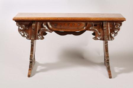 Boarded stool
