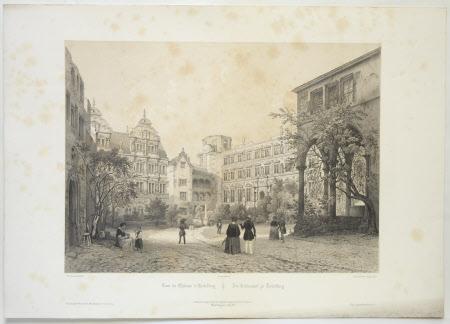 Cour du Chateau d'Heidelberg