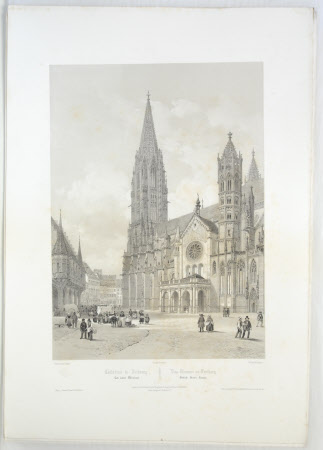 Fribourg Cathedral (after Jean Baptiste Chapuy)