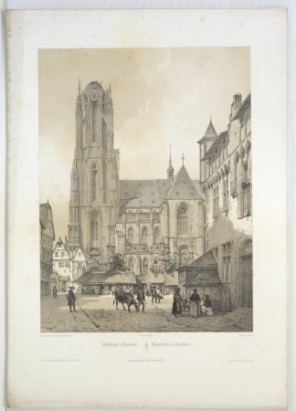 Frankfurt Cathedral, Germany (after August Mathieu)