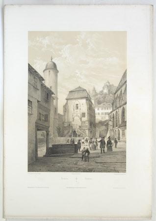 Wertheim am Main, Germany (after Jean-Baptiste Chapuy)