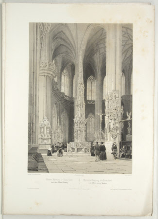 Tabernacle (1493-1496) by Adam Kraft in the Church of St Lorenz, Nuremberg (after Jean Baptiste ...