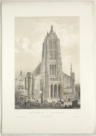 Facade of the Cathedral, Ulm (after Auguste Mathieu)