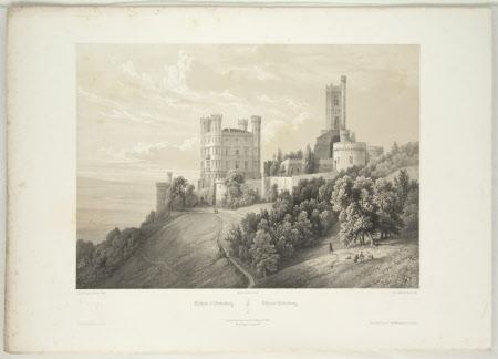 Chateau d'Ortenberg (after Jean Baptiste Chapuy)