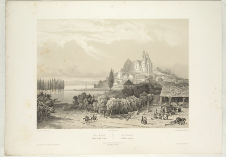 View of Brisach from the Hotel de Bains (after Jean Baptiste Chapuy)