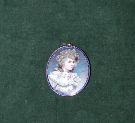 Lady Elizabeth Christiana Hervey, Duchess of Devonshire (Lady Elizabeth Foster) (1759-1824) (after ...