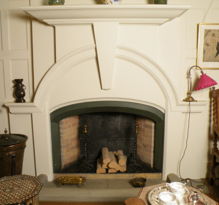 Chimneypiece, The Hall, Standen