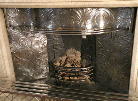 Dining Room fireplace (Standen © National Trust / Jane Mucklow)