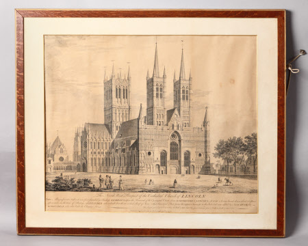 Lincoln Cathedral from the North-west (after Joseph Baker)