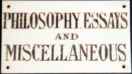 Book label
