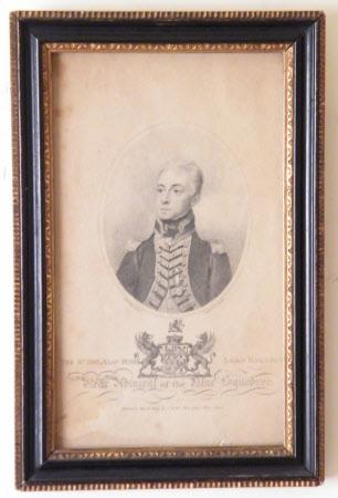 Admiral Alan Hyde Gardner, 2nd Baron Gardner of Uttoxter (1770- 1815)