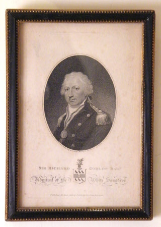 Admiral Sir Richard Onslow (1741-1817)