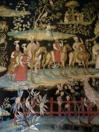Tapestry 'after the Indian Manner'