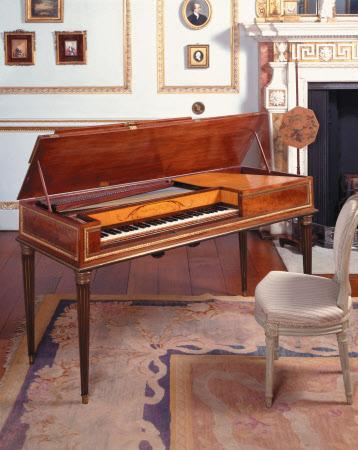 Marie Antoinette's Square Piano