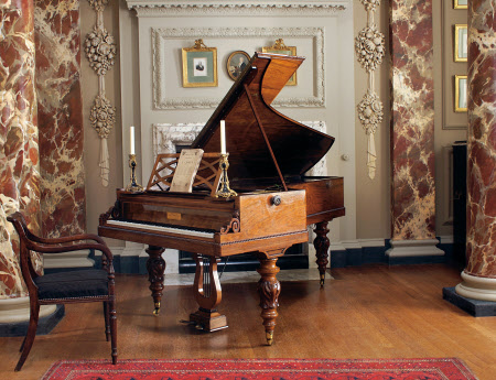 Chopin's Pleyel piano