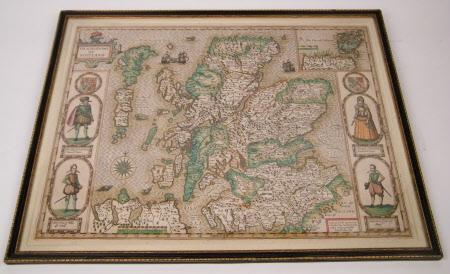 Map of Scotland: King James I (James VI of Scotland) (1566–1625), Prince Henry Frederick, Prince of ...
