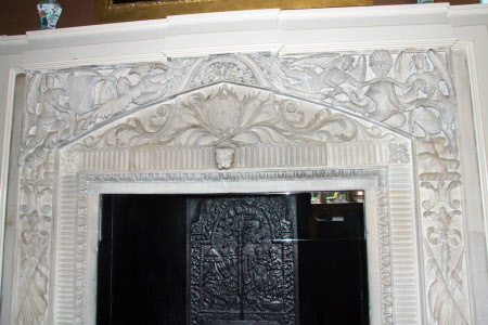 Chimneypiece, Brown Drawing Room, Blickling Hall