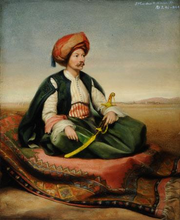 Sir John Gardner Wilkinson (1797-1875), aged 46, in Turkish Dress