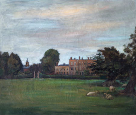 View from the West of Gunby Hall, Lincolnshire