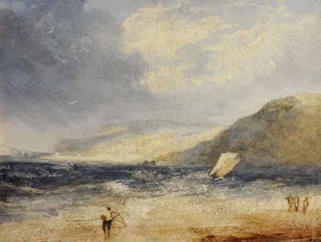 Shrimpers at Lyme Regis