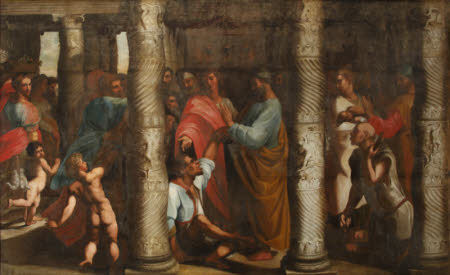 Healing of the Lame Man (after Raphael)