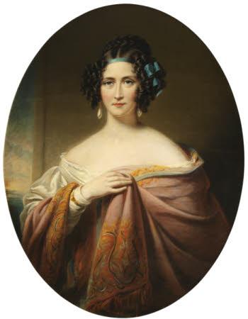 Mary Ann Viney-Evans, Viscountess Beaconsfield (1792-1872)