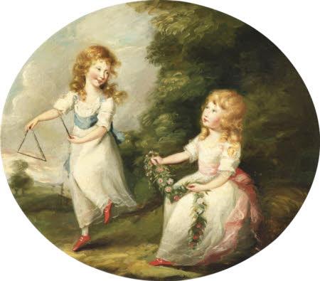 Charlotte Wheeler and her Sister Penelope Wheeler (later Mrs Charles Craven)