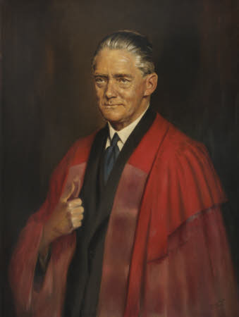 William Richard Morris, Viscount Nuffield (1877-1963) in the Robes of a Doctor of Civil Law