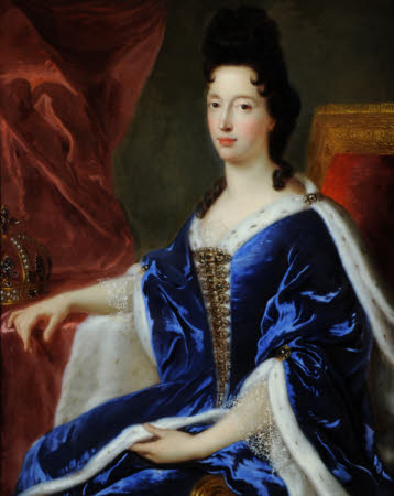 Queen (Mary Beatrice d'Este) of Modena (1658 - 1718)