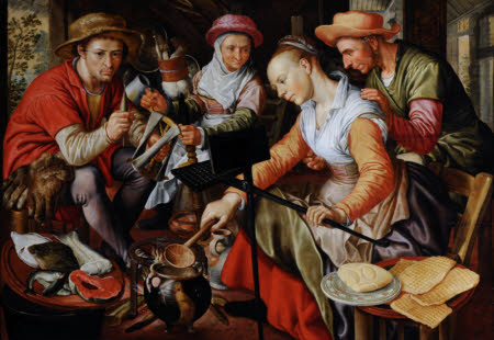 A Dutch Kitchen Scene