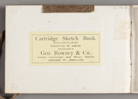 Rye; Keswick; Hill Top Farm - page 1 (inside front cover)