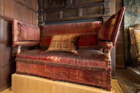 The so-called 'Knole Sofa'
