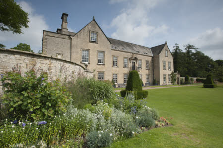 The south front of Nunnington Hall near Helmsley North Yorkshire.