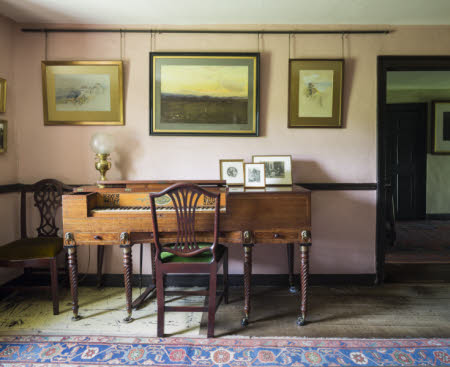 The Sitting Room at Hill Top, Cumbria, home of Beatrix Potter