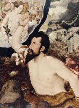 An Allegorical Portrait of Sir John Luttrell (c.1519-1551)